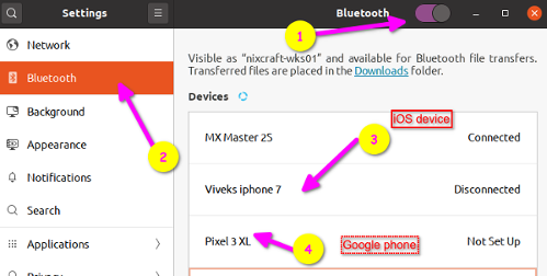 Linux set up bluetooth speaker to stream audio from your Android or iOS mobile phone